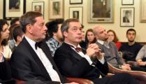 David Blunkett + Nigel Farage at The Cambridge Union Society